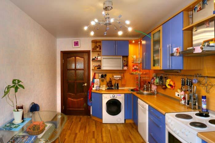 Капитальный ремонт на кухне своими руками
