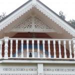 Как обшить фронтон дома пластиком ?