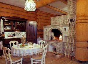 Создаем кухню в русском стиле