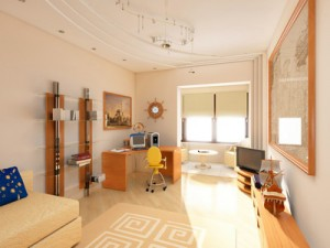 Дизайн интерьеров помещений в Москве