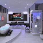Интерьер в стиле высоких технологий
