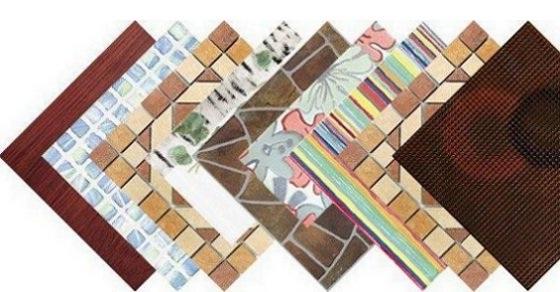 Разновидности современной керамоплитки