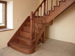 Деревянные лестницы из ольхи