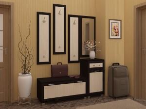 Удобная прихожая в маленькой квартире