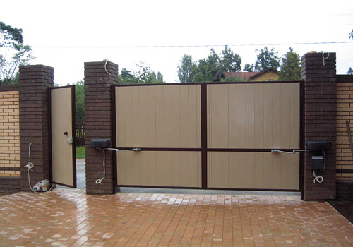Оригинальные автоматические ворота