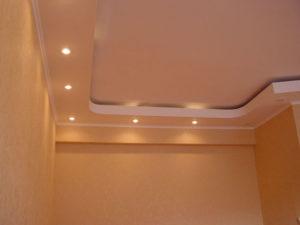 Гипсокартонные многоуровневые потолки