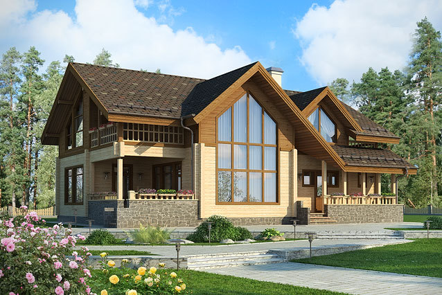 Заказать проект загородного дома