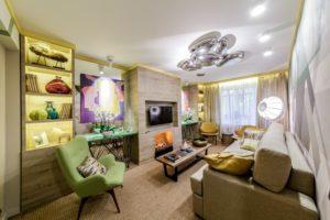 Дизайн интерьера гостиной