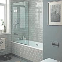 Душевые стеклянные шторки на ванну