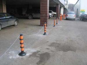 Изготовление парковочных столбиков